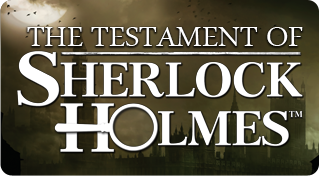 The testament of Sherlock Holmes Trophy set